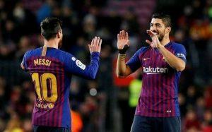Lionel Messi Luis Suarez Inter Miami