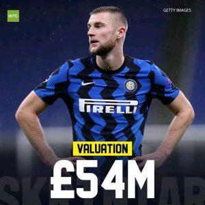 Inter Milan Skriniar Liverpool