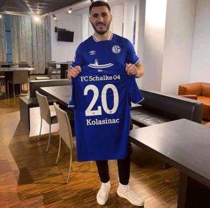 Kolasinac Arsenal Schalke