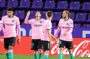 Real Valladolid Barcelona