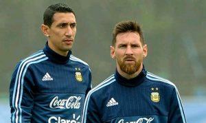 Lionel Messi Di Maria