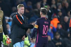 De Bruyne Lionel Messi