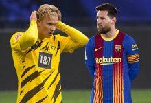 Haaland Messi