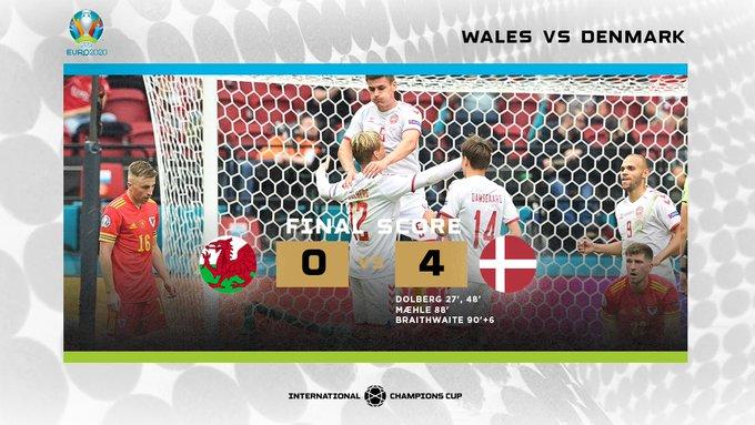Wales Denmark