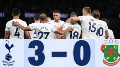 Tottenham Pacos de Ferreira