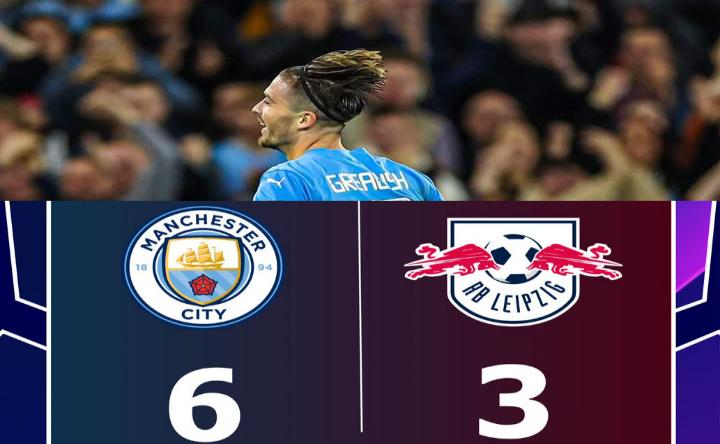 Man City RB Leipzig