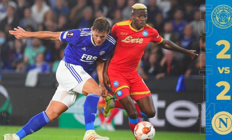 Leicester City Napoli