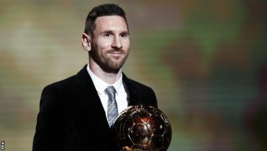 Messi Ballon D'or Award